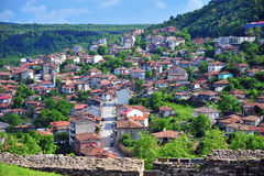 Cidade de Veliko Tarnovo Imagem de Stock Royalty Free