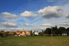 Cidade de Vidnava (weidenau) Foto de Stock