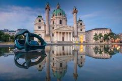 Cidade de Viena, Áustria Fotos de Stock Royalty Free