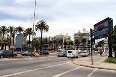 A cidade de Vina del Mar, o centro administrativo da municipalidade homónima fotografia de stock royalty free