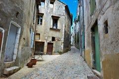 Cidade de Viviers imagem de stock