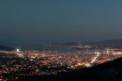 Cidade de Volos fotografia de stock royalty free