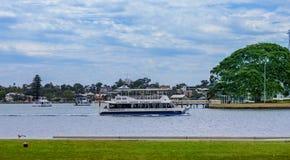 Cidade de West Australian de Mandurah imagem de stock royalty free