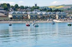 Cidade de Wicklow, costa leste, Irlanda Fotografia de Stock