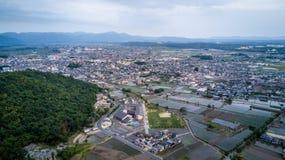 Cidade de Yokaichi, Shiga, Japão Imagens de Stock Royalty Free