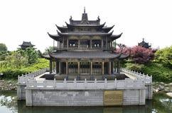Cidade de Yueyang, província de Hunan China Foto de Stock Royalty Free