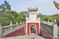 Cidade de Yueyang, província de Hunan China Fotos de Stock Royalty Free