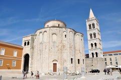 Cidade de Zadar, Croácia Fotos de Stock Royalty Free