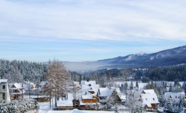 Cidade de Zakopane Fotos de Stock Royalty Free