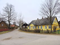 Cidade de Zemaiciu Kalvarija, Lituânia fotos de stock royalty free