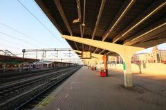 cidade de zibo do estação de caminhos-de-ferro Imagens de Stock