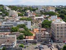 Cidade densamente povoada Imagens de Stock