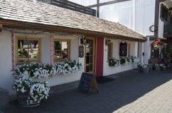 Cidade do alemão de Leavenworth Foto de Stock