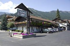 Cidade do alemão de Leavenworth Fotos de Stock