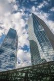 Cidade do arranha-céus Imagens de Stock Royalty Free