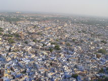 Cidade do azul de Jodhpur Fotos de Stock