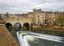 Cidade do banho Foto de Stock Royalty Free