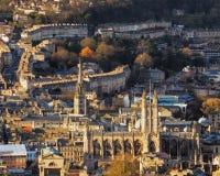 Cidade do banho Somerset England Reino Unido Europa foto de stock