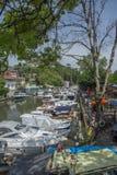 Cidade do beira-mar Fotografia de Stock