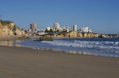 Cidade do beira-mar Foto de Stock