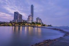 A cidade do beira-mar Fotografia de Stock Royalty Free