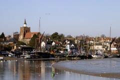 Cidade do beira-rio de Maldon. Imagens de Stock Royalty Free
