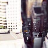 Cidade do brinquedo Fotografia de Stock Royalty Free