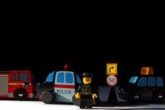 Cidade do brinquedo Imagens de Stock