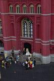 Cidade do brinquedo Imagens de Stock Royalty Free