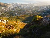Cidade do cabo da montanha da tabela Fotografia de Stock