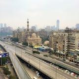 Cidade do Cairo e rio Nile Imagens de Stock Royalty Free