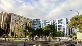 A cidade do centro de Caracas Lido fotografia de stock royalty free
