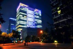 Cidade do centro de Chengdu, Sichuan China fotos de stock royalty free