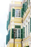 Cidade do centro de Christiansted nós Virgin Islands fotos de stock