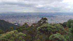 Cidade do ¡ de Bogotà foto de stock