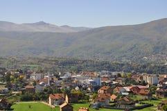 Cidade do ¡ de DragaÅ, Kosovo do sul fotos de stock royalty free