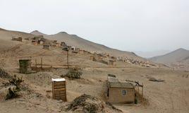 Cidade do degradado em Lima imagens de stock royalty free