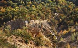 Cidade do diabo (Davolja Varos) serbia foto de stock royalty free