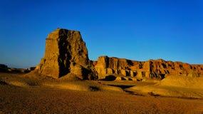Cidade do diabo em Xinjiang foto de stock