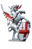 Cidade do dragão de Londres Imagem de Stock
