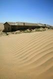 A cidade do fantasma em Kolmanskop Fotografia de Stock Royalty Free