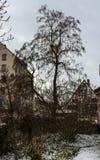Cidade do inverno Fotos de Stock