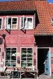 A cidade do koge em Dinamarca Fotos de Stock Royalty Free