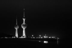 A Cidade do Kuwait Foto de Stock Royalty Free