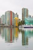 Cidade do lado de mar Fotografia de Stock