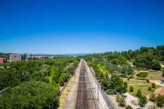 Cidade do Madri Fotografia de Stock Royalty Free