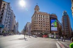 Cidade do Madri Imagens de Stock