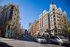 Cidade do Madri Fotos de Stock