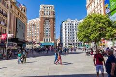 Cidade do Madri Foto de Stock