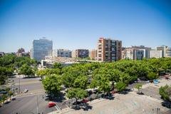 Cidade do Madri Imagens de Stock Royalty Free